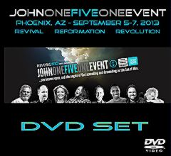 John One Five One DVD Cover Phoenix AZ 2013.jpg
