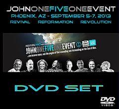 John One Five One DVD Cover Phoenix AZ 2013.jpg